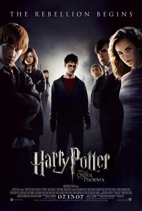 أكبر سلسلة للأفلام Harry Potter  Harry-potter-and-the-order-of-the-phoenix-poster1